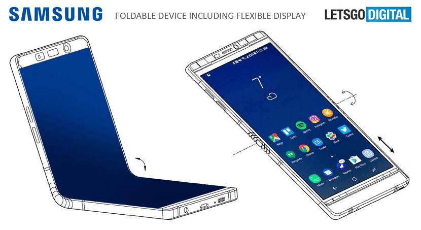 Samsung movil plegable