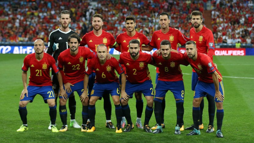 Foto oficial Selección Española 2018