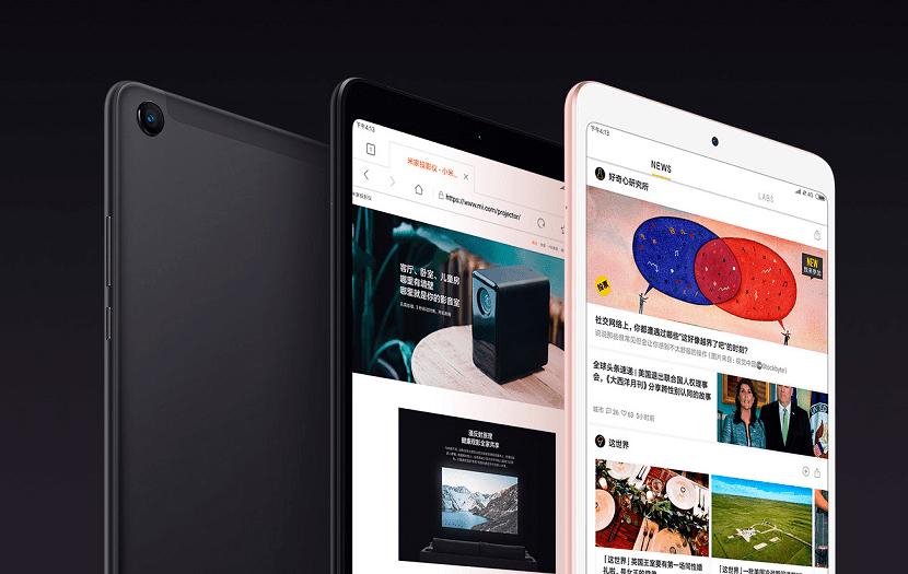 Xiaomi Mi Pad 4 colores