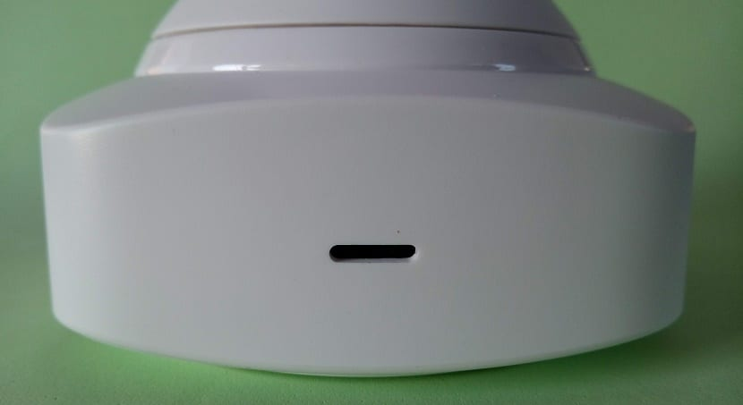 YI-Cloud Dome Camera frontal