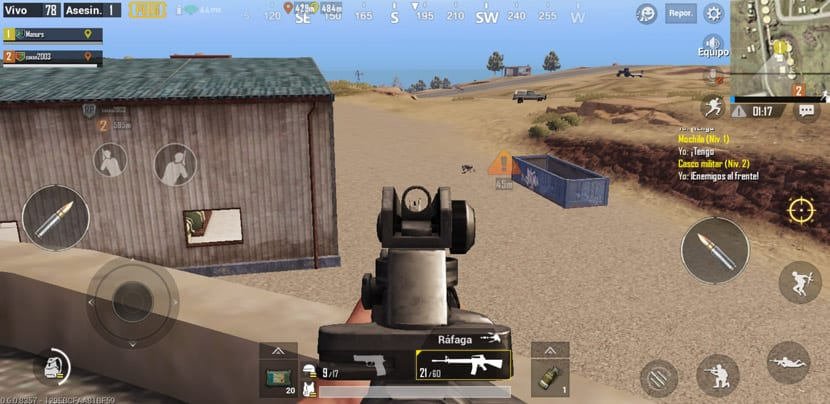 Alerta enemigo PUBG Mobile