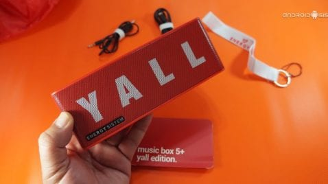 Vídeo review más sorteo Energy Music BOX 5+ YALL Edition