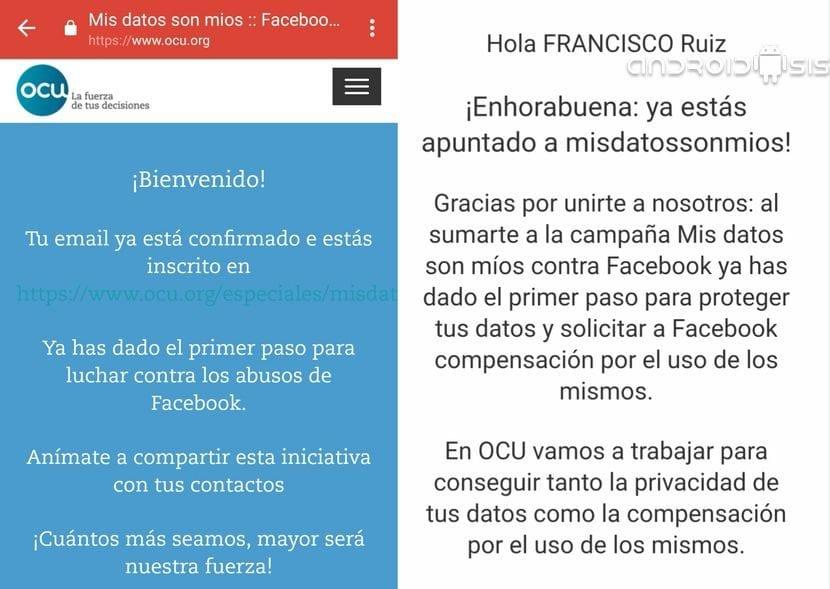 Facebook 200 Euros cada Español