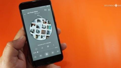 Increíble reproductor de música en streaming con modo offline gratis