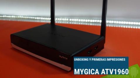 Unboxing y primeras impresiones del MyGica ATV1960, un TV BOX tope de gama que pinta muy pero que muy bien
