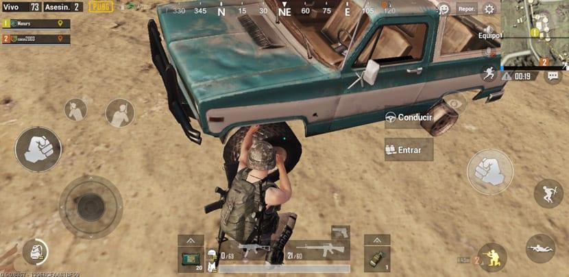 Vehículos PUBG Mobile