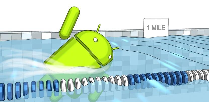 Android natacion