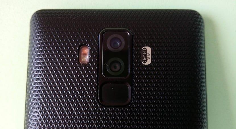 Bluboo S3 cámara