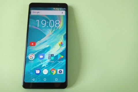 Bluboo S3 pantalla