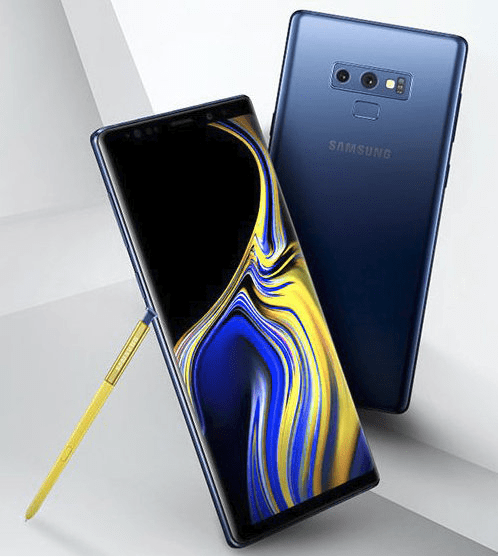 Galaxy Note 9 render