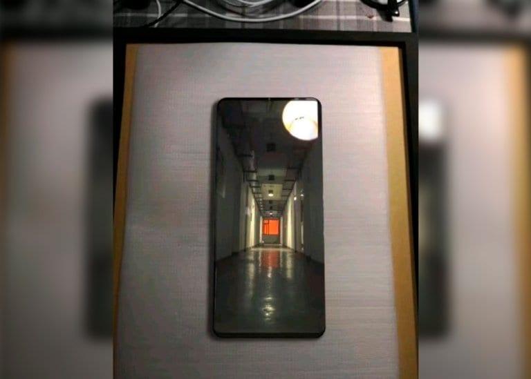 Supuesto Huawei Mate 20 Pro filtrado hace poco