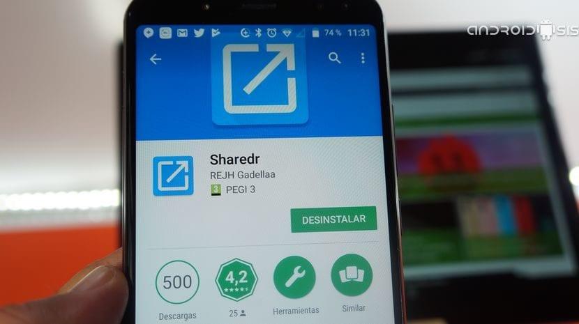 Cómo cambiar el menú compartir de Android
