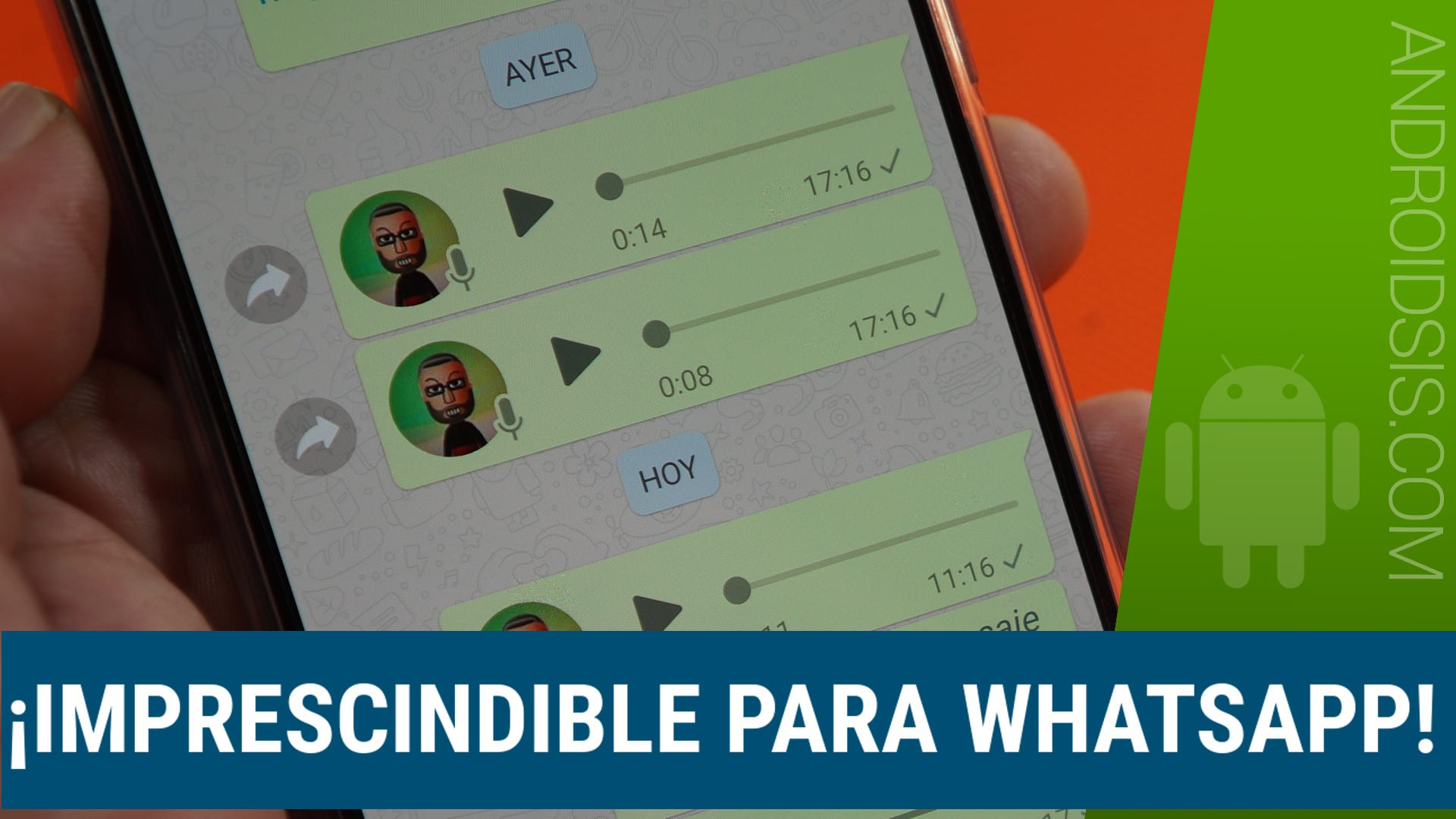 WhatsApp voz a texto, o cómo leer los audios que nos llegan a WhatsApp