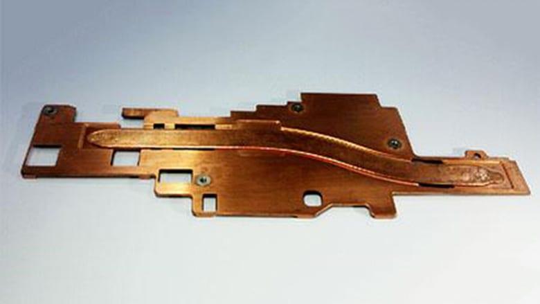 Placa de cobre, el componente que llevará el sistema de refrigeración de Huawei para los móviles 5G