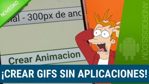 Cómo crear GIFS sin necesidad de aplicaciones