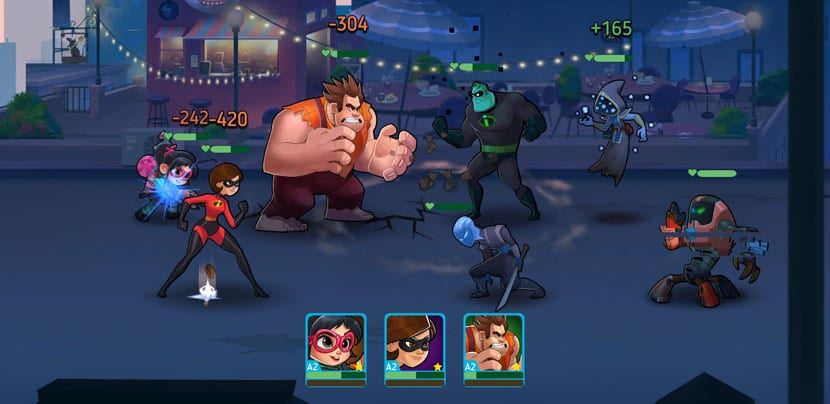 Disney Heroes Battle Mode combate