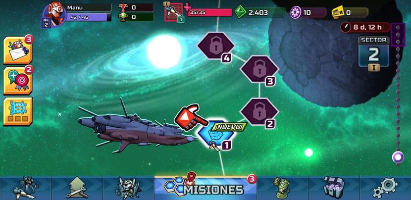 GALAK-Z: Variant Mobile suma elementos de RPG y combate espacial de ...