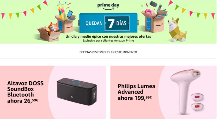 Ofertas Pre Pime Day 2018