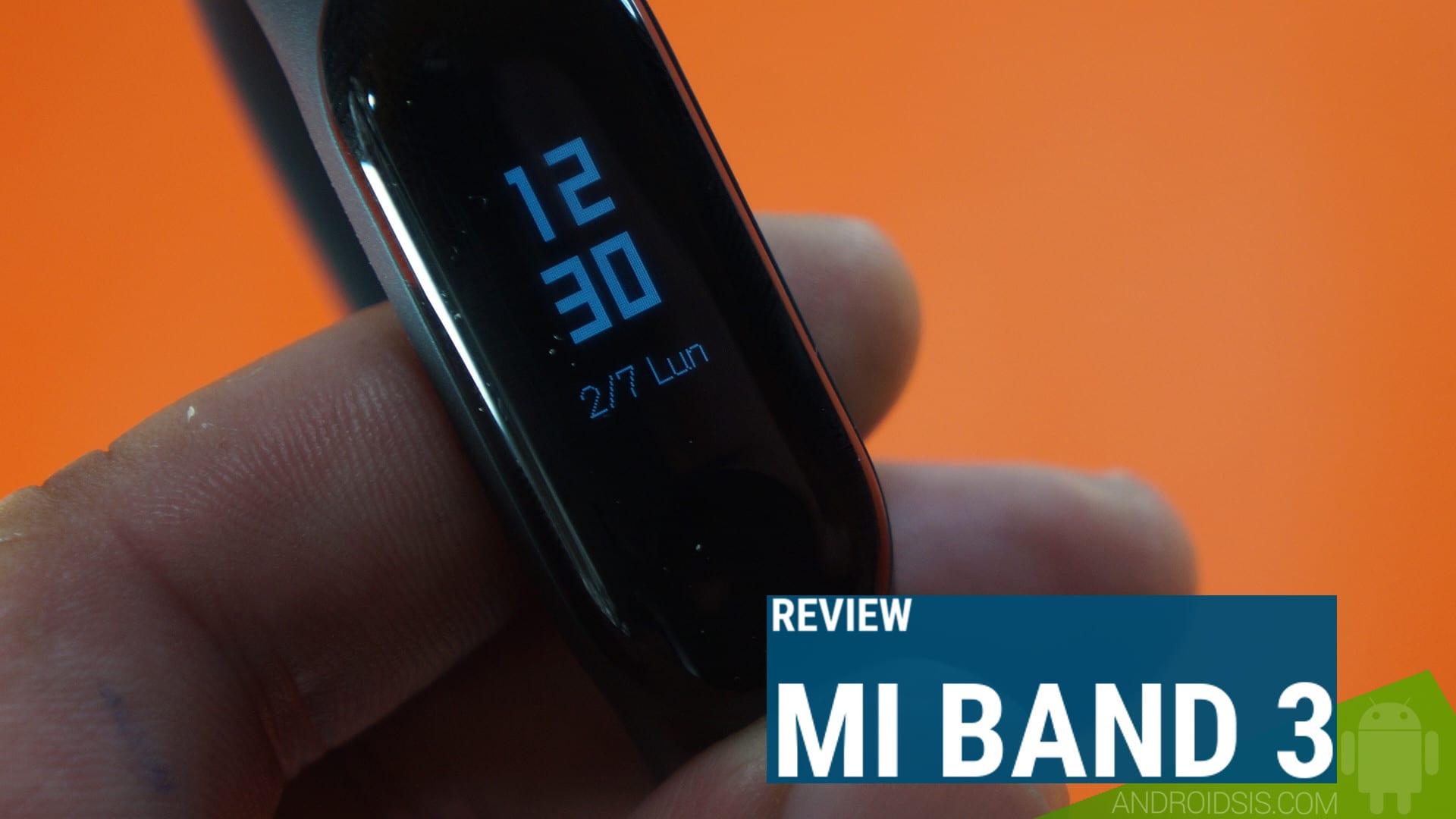 Review Xiaomi Mi Band 3