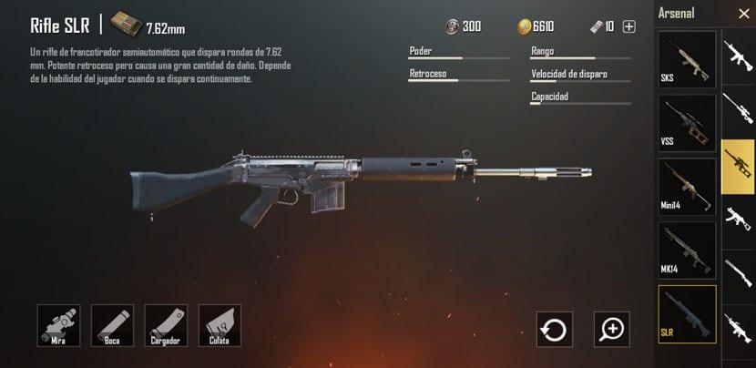 Rifle SLR