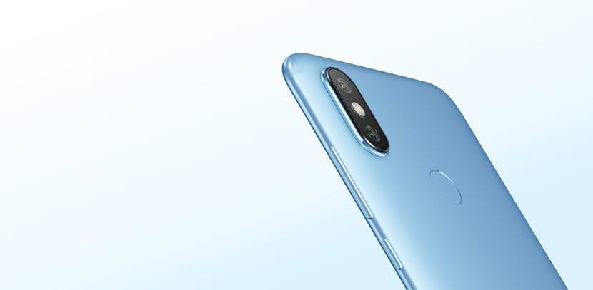Cámara del Xiaomi Mi A2