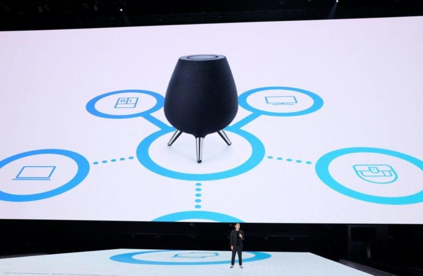Samsung Galaxy Home con Bixby y Spotify