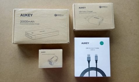 AUKEY pack completo