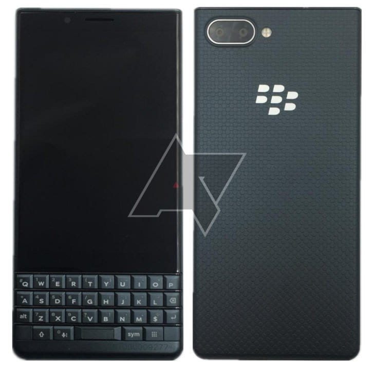 Blackberry KEY2 LE filtrado