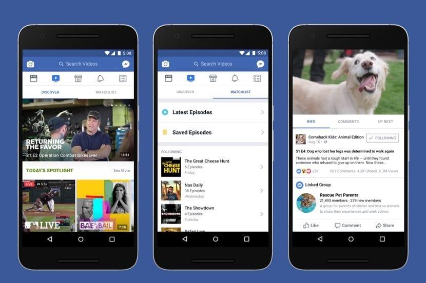 Facebook Watch oficial