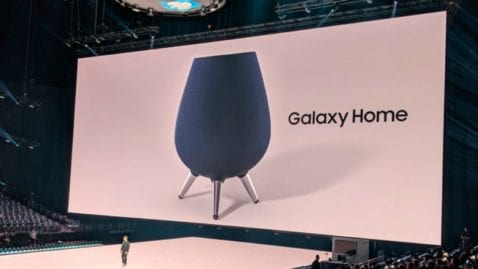 Samsung presenta su primer altavoz inteligente con Bixby: el Galaxy Home