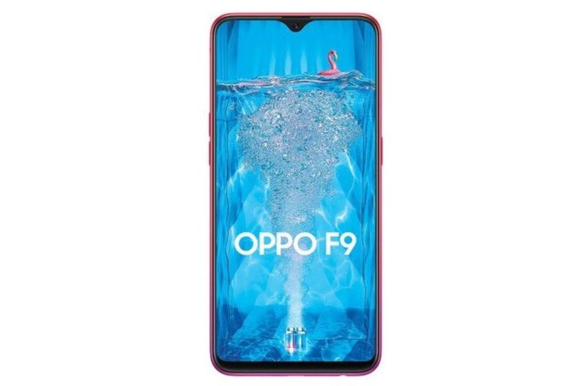 Oppo F9 con Corning Gorilla Glass 6 y pantalla Waterdrop
