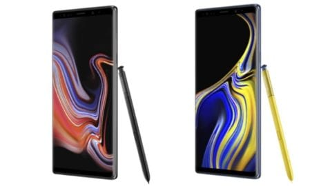 Samsung Galaxy Note 9 en Orange