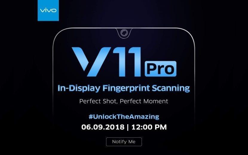 Vivo V11 Pro lanzamiento