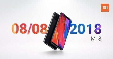 Xiaomi Mi 8 Lanzamiento España