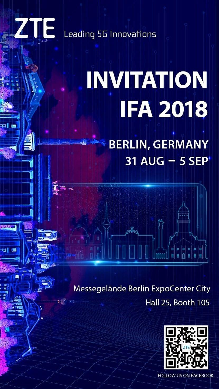 ZTE IFA 2018