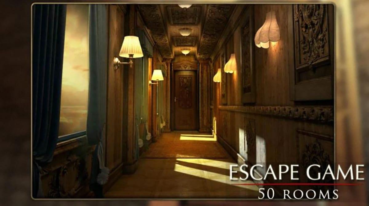 Escapar juego: 50 habitación 2