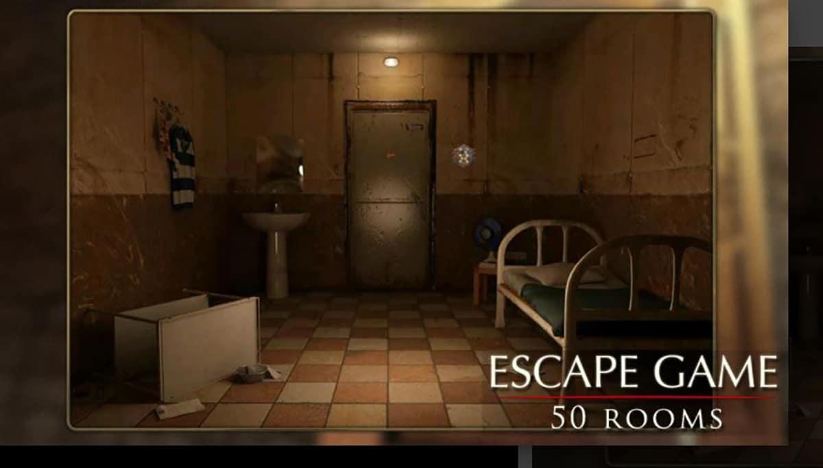 Escapar juego: 50 habitación 3