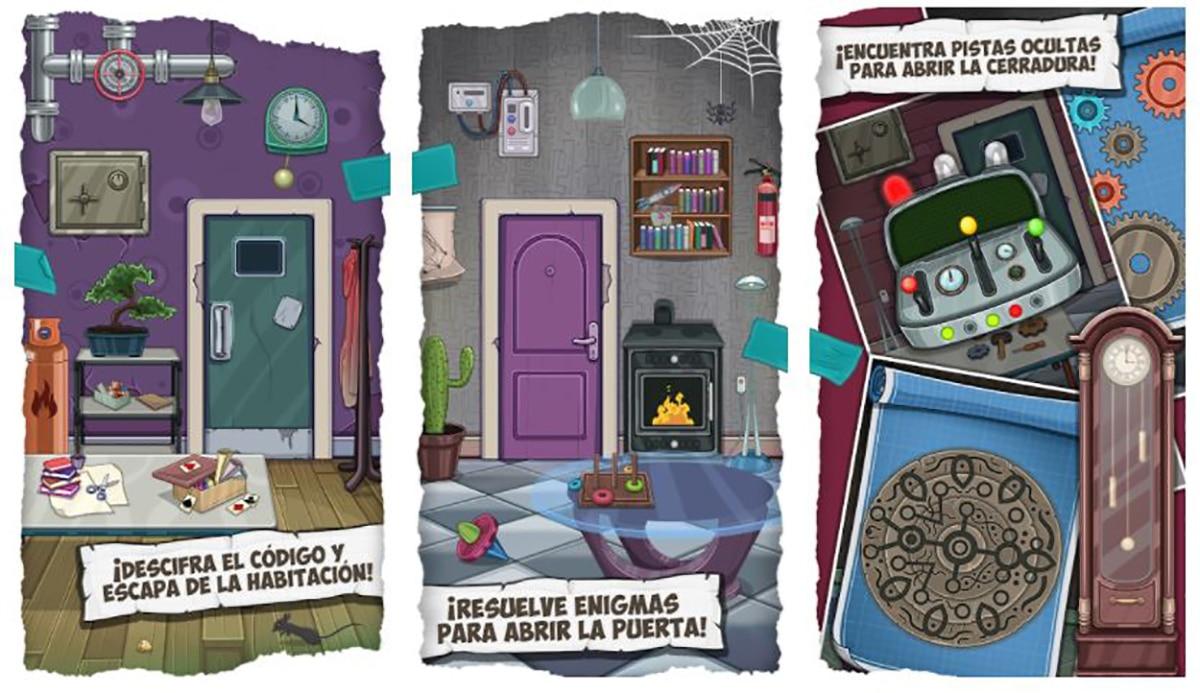 Escape Room Acertijos: Juegos de Pensar en Español