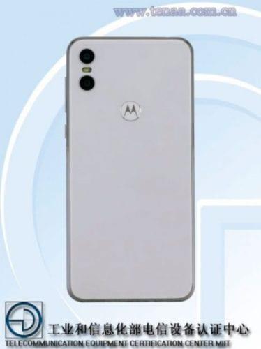 Trasera del Motorola One