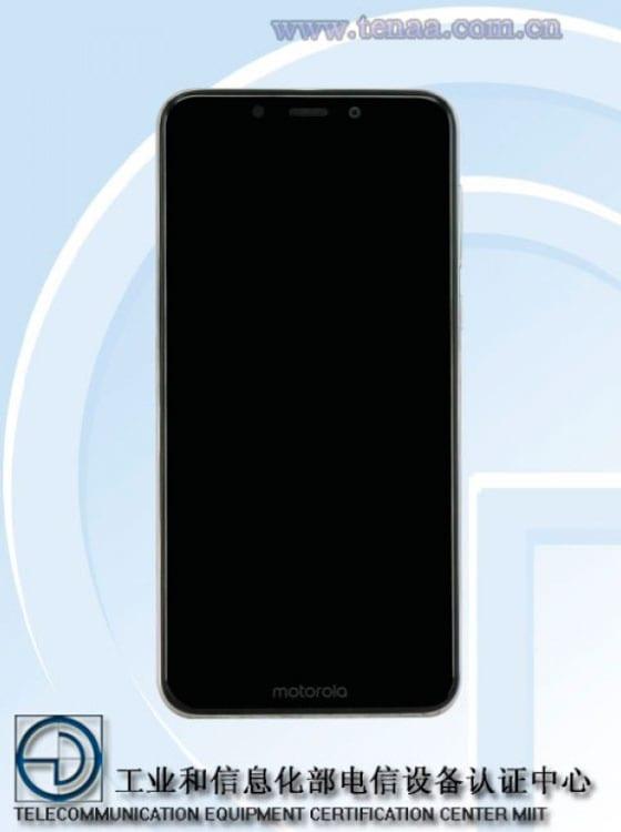 Motorola One en TENAA