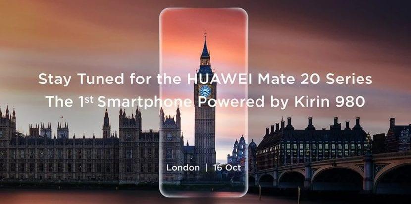 Presentación de la serie Mate 20 de Huawei