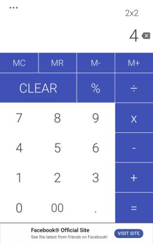 Calculadora Tricolor