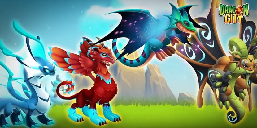 Existen cientos de dragones disponibles en Dragon City
