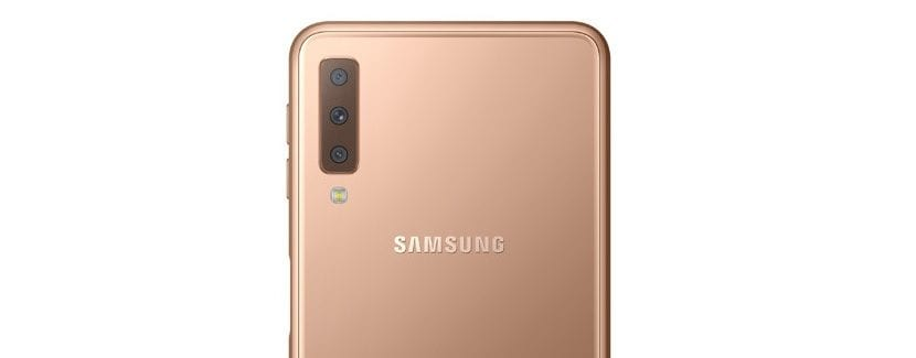 Galaxy A7 2018 camara