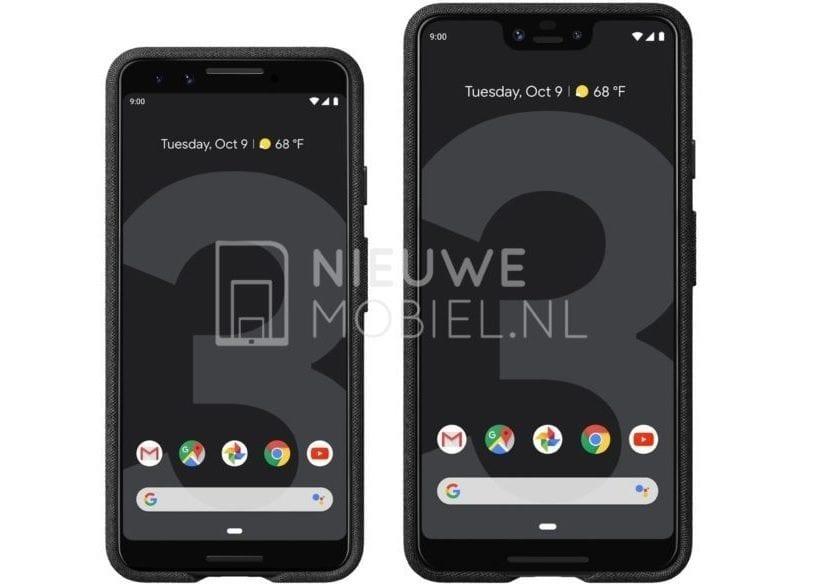 Google Pixel 3 y 3 XL