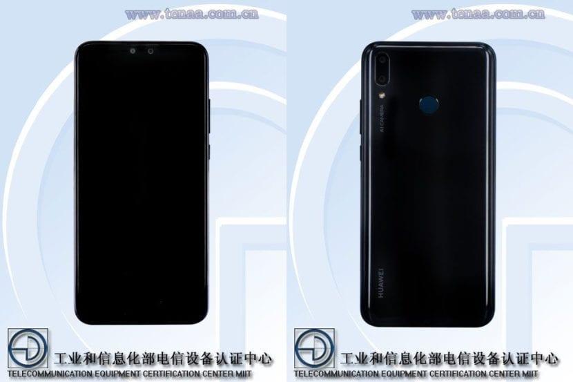 Huawei Y9 (2019) filtrado en TENAA