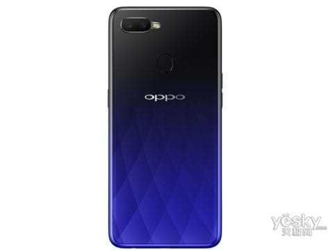 Render oficial del Oppo A7X