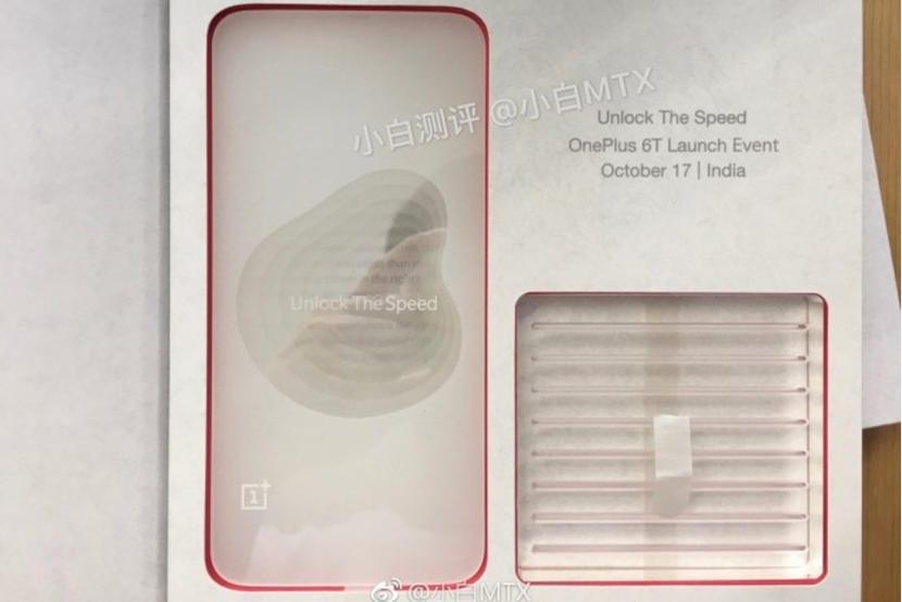 OnePlus 6T invitacion