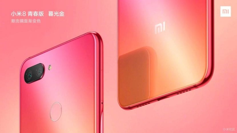 Xiaomi Mi 8 Lite rosa