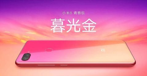 Xiaomi Mi 8 Youth degradado